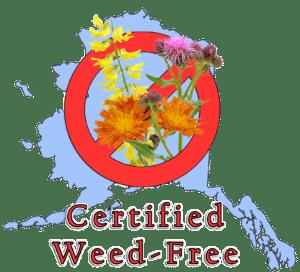 Certified Weed Free Logo